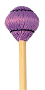 Play Wood プレイウッド キーボード マレット アーティスト シリーズ M-3002 ビブラフォン マリンバ に 籐柄 紫綿糸巻 Playwood