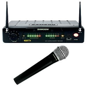 特価品 ワイヤレスマイクセット1本 SAMSON SW77HQ7 B15