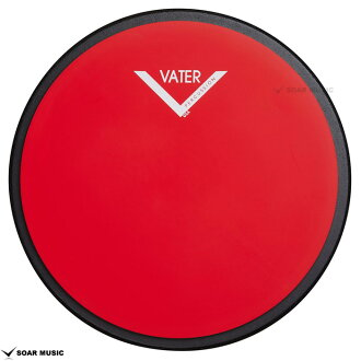 "12 inches of practice pad training pad drum pad VCB12S VATER beta 12 ""for the snare for the drum"