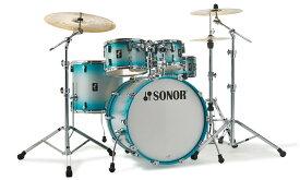SONOR ソナー ドラムセット STAGE ステージ SN-AQ2SG 22インチバスドラムバージョン ラッカーフィニッシュ