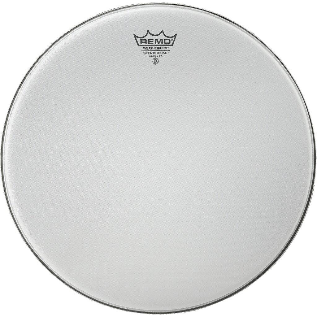 "REMO レモ 22"" BD メッシュヘッド サイレントストローク 消音 ドラムヘッド SILENT STROKE SN-1022 ヘッド ドラム 練習用 トレーニング用 バスドラム用 バスドラム"