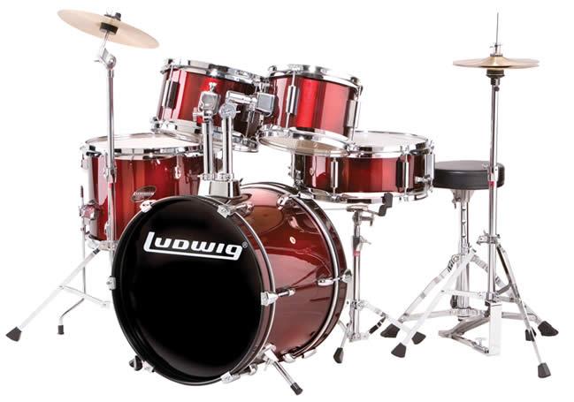 Ludwig ラディック ドラムセット アクセントCSシリーズ LJR106 Accent Junior Set スタンド・シンバル付属!