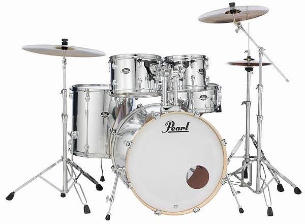 Pearl パール ドラムセット EXPORTシリーズ エクスポートシリーズ EXX725S/C ミラークロームカラー(限定カラー)
