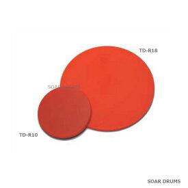 ゴムシート練習台 φ100×4t プラクティスパッド ドラム練習パッド・トレーニングパッド PLAY WOOD TD-R10