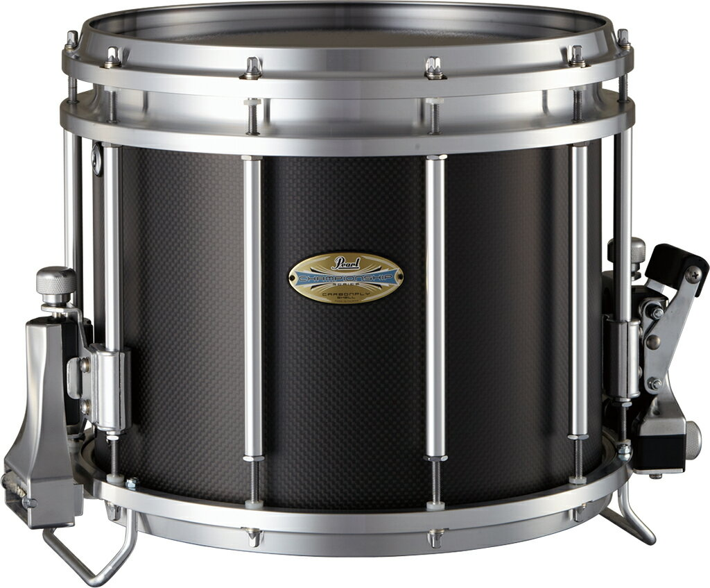 "13"" x 11"" (33cm x 28cm) 6.9kg Pearl Carbonply ""FFX"" Snare Drums カーボンプライ ""FFX""マーチングスネアドラム パール FFXCP1311/A 受注製作"