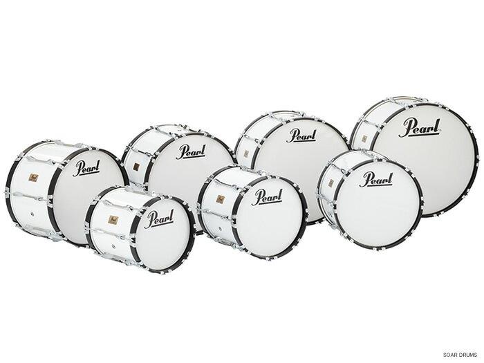 """Pearl パール マーチングバスドラム 26"""" x 14"""" コンペティターシリーズ CMB2614/C マーチングドラム 大太鼓"""