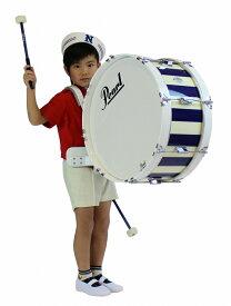 【受注製作】 Pearl パール マーチングバスドラム 20x8インチ(51x20cm) MJ-220BA MJ Series Artisan II 大太鼓 幼児用 園児用 子供用 キッズ用