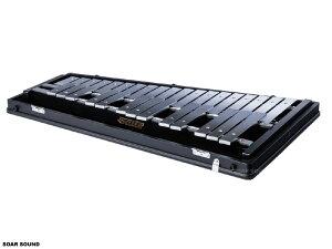 SAITO サイトウ コンサートグロッケン F57〜C88 2 1/2 オクターブ 32鍵 SG-100 鉄琴 マレット ケース 付属