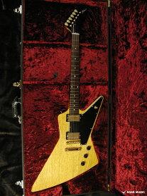 Momose モモセ エクスプローラー モデル MEX・K-STD/NJ NA ブラックピックガード仕様 エレキギター コリーナボディ