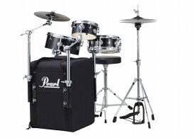 Pearl パール Rhythm Traveler Black Box ポータブル ドラムセット RT-703/C リズムトラベラー ブラックボックス ドラム # 31 Jet Black