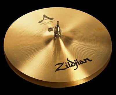 """ハイハット New Beat HiHats ニュー ビート ハイハット 13"""" 33cm トップ Medium NAZL13NB.HHT / A Zildjian ジルジャン シンバル"""