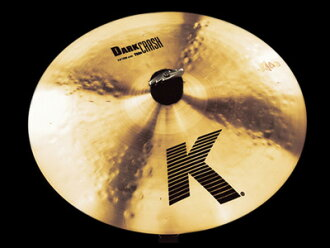 "系統癱瘓Dark Crash Thin dakukurasshushin 17""43cm Thin NKZL17DKC/K Zildjian吉爾約翰銅鈸"
