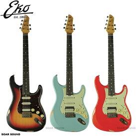 【再上陸】 EKO Guitar Aire Relic レリック エレキギター VSB / FRD / DFB ギター