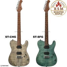Bacchus バッカス TACTICS24-FM/RSM ローステッドメイプル ネック グローバル シリーズ TACTICS 24 FM RSM ギター エレキギター テレキャスター タイプ