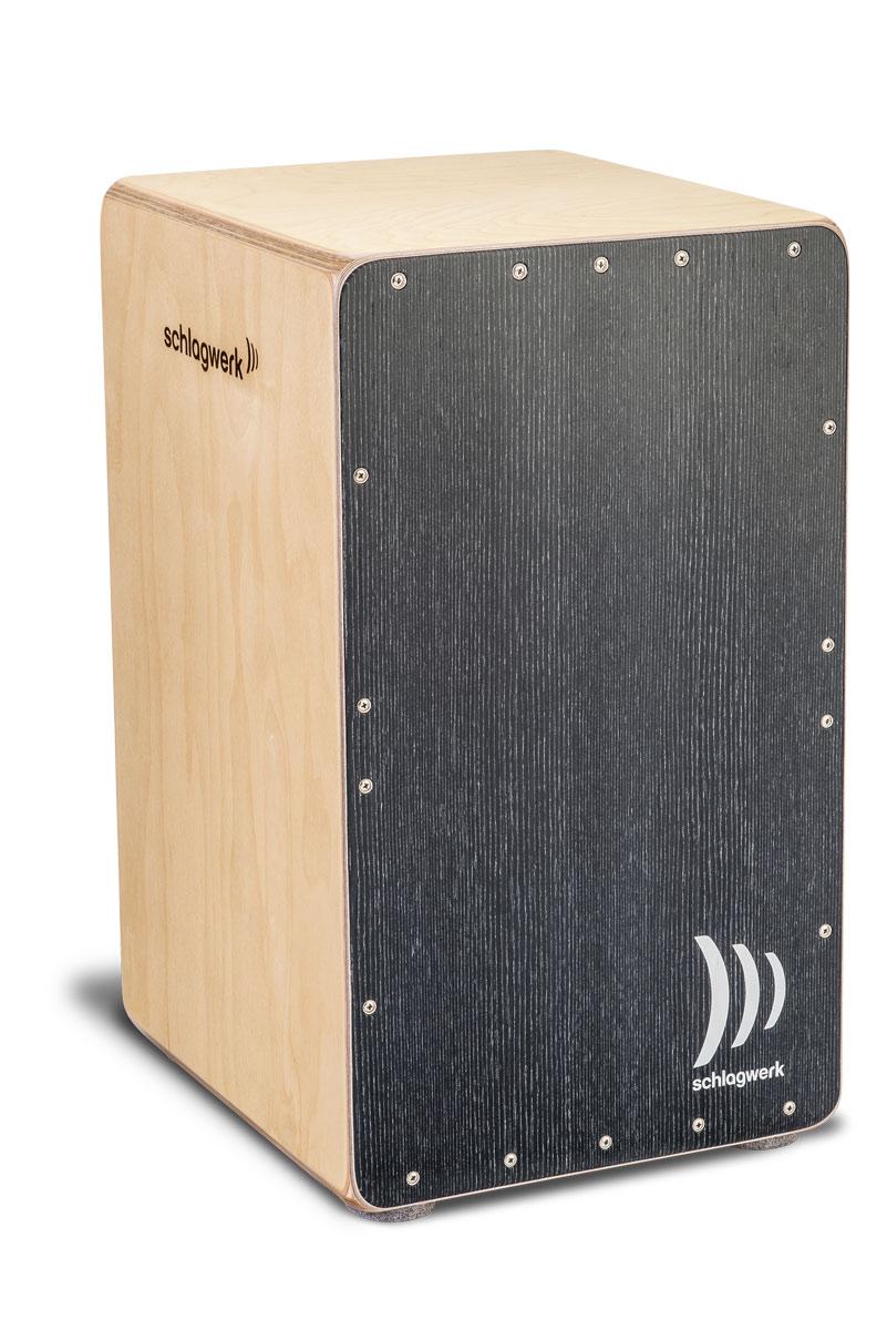 Schlagwerk シュラグヴェルク カホン ブラック・シルバー・デザイン SR-CP5003