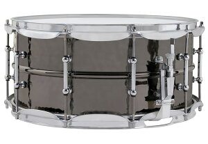 Black Beauty Snare Hammered Shells Classic Lugs LB417K
