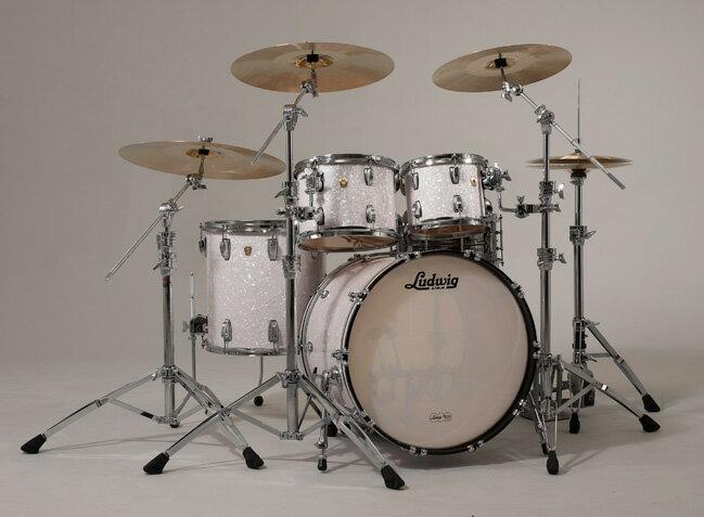【納期短め!】Ludwig ラディック ドラムセット クラシックメイプルシリーズ シェルパック MOD-22 L8424AX ドラム