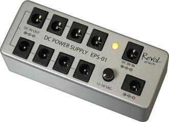 RevoL effects 레보르에페크트/ DC POWER SUPPLY EPS-01 /전원 공급 장치/음향 처리 장치
