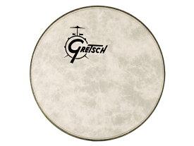 """GRETSCH グレッチ ドラム 22"""" 純正 ロゴ入り バスドラムヘッド ファイバースキン GPFIBERO-22 ドラムヘッド フロント用"""