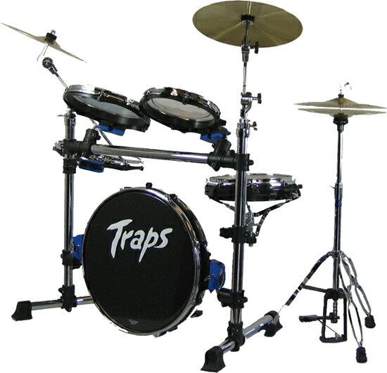 ポータブルなドラムセット!TrapsDrums トラップスドラム A400NC 野外 ストリートに! 持ち運び便利
