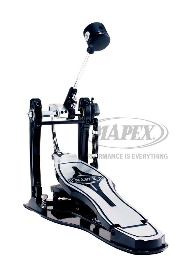 【ケース付属】高速・軽快を目指すドラマーに!ダイレクトドライブカム・シングル・キックペダル Raptor Single Pedal P900D MAPEX フットペダル