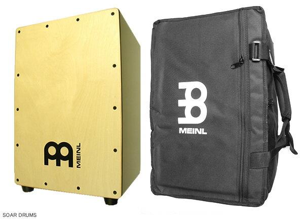 【ケース付!】CAJON / カホン : MEINL (マイネル) / MCAJ100BK-MA+ (with bag)