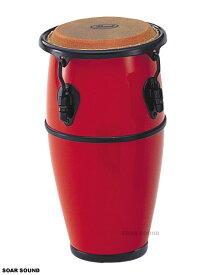 Pearl パール ミニ コンガ ファイバーグラス採用で軽くて丈夫! PMC-1 ミニサイズ キッズ ジュニア サイズ レッド 赤色