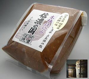山万味噌 信濃の国 木桶仕込 信州味噌 信州みそ 赤 辛口 1kg