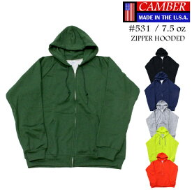 さらにお安くなりました!キャンバー CAMBERチルバスター ジッパー フード パーカー CHILL BUSTER ZIPPER HOODED 7.5オンスワッフルサーマル 長袖 メンズ 【正規品】【送料無料】