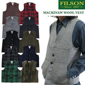 フィルソン FILSON マッキーノウールベスト ウール ベスト メンズ 10055 定番【送料無料】