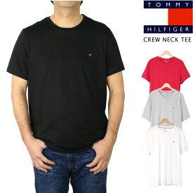セール トミー ヒルフィガー TOMMY HILFIGERCore Flag Tee コア フラッグ Tシャツ無地 クルーネック メンズ 大きいサイズあり【正規品】【送料無料】 【ネコポス(1点のみ)】