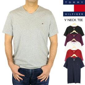 セール トミー ヒルフィガー TOMMY HILFIGERCore Flag Tee コア フラッグ Tシャツ無地 トップス Vネック メンズ 大きいサイズあり【正規品】 【送料無料】 【ネコポス(1点のみ)】