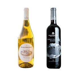 マリブ赤白ワインセット 高級ワイン セット ワインセット シャルドネ カベルネソーヴィニヨン ブレンド カリフォルニア カリフォルニアワイン ギフト
