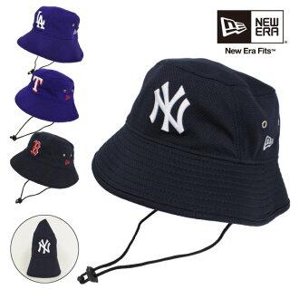 LTD -GOLDEN WEST-  New era NEW ERA new era Cap mesh logo basic bucket Hat  NY Yankees LA Dodgers T Rangers B Red Sox Hat Cap with strap folding ... 4ce751814245
