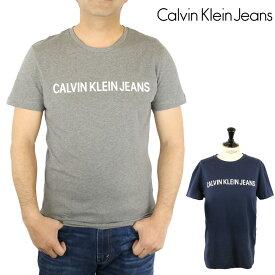 カルバン クライン ジーンズ Calvin Klein Jeans ロゴ プリント グラフィック 半袖 Tシャツ Short Sleeve トップス カットソー クルーネック Uネック 丸襟 メンズ 【正規品】 【メール便】