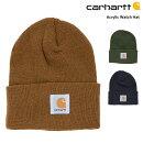 カーハートCARHARTTニットキャップワッチキャップニット帽メンズレディースユニセックス