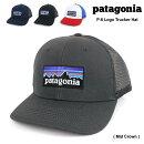 パタゴニアPatagoniaメンズレディースベースボールキャップP-6LogoTruckerHat