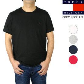 在庫処分セール トミー ヒルフィガー TOMMY HILFIGER Core Flag Tee コア フラッグ Tシャツ 無地 トップス カットソー クルーネック メンズ 男性用 大きいサイズあり 定番 【正規品】【メール便】