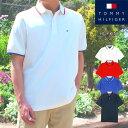 【父の日ギフト ラッピング付き】トミー ヒルフィガー TOMMY HILFIGERメンズ 半袖 ポロシャツ トップス フラッグ ロゴ…