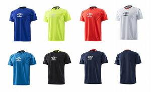 アンブロ UUULJA59 2018SS BT ロゴ プラシャツ プラクティス シャツ 半袖