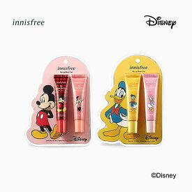 innisfree(イニスフリー)■マイリップバーム セット Disney Limited Edition - Mickey Mouse & Minnie Mouse- Donald Duck & Daisy Duck■韓国コスメ メイクアップ■ディズニー コラボ ミッキー ミッキーマウス