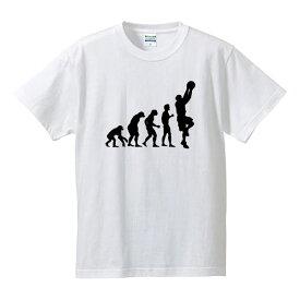 ■グラフィックTシャツ■面白Tシャツ■人類の進化(バスケットボール)■綿/ポリエステル■サイズ S〜4L■全5色■面白いTシャツ■おもしろTシャツ■大きいサイズ■ビッグサイズ■半袖■還暦・長寿のお祝いにも