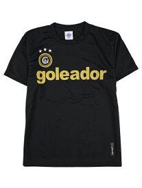 goleador ゴレアドール プラクティスシャツ ブラック×ゴールド G-440-BK-GD99