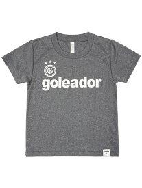 goleador ゴレアドール 限定 ジュニア プラシャツ グレー × ホワイト × オレンジ GO-001K-GRY-OR