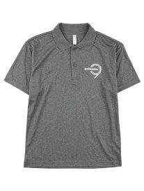 goleador ゴレアドール 限定 No. 9 ポロシャツ ビッグサイズ グレー SG-003-2-MGRY