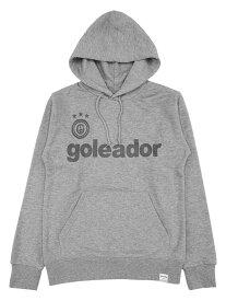 goleador ゴレアドール 限定 スウェット プル パーカー グレー ×ラメ ブラック GO-061-GRY-GBK