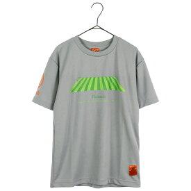 Hubsch ヒュブシュ 限定 サッカー Tシャツ (ピッチ) グレー H-0125-81-GRY ゴレアドール 兄弟ブランド セール シャツ