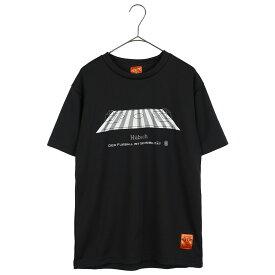 Hubsch ヒュブシュ 限定 サッカー Tシャツ (ピッチ) ブラック H-0125-91-BLK ゴレアドール 兄弟ブランド セール シャツ