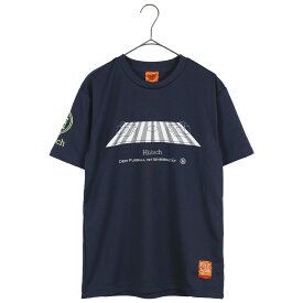 Hubsch ヒュブシュ 限定 サッカー Tシャツ (ピッチ) ネイビー H-0125-36-NVY ゴレアドール 兄弟ブランド セール シャツ