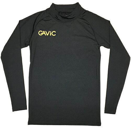 ガビック GAViC サッカー フットサル ストレッチインナートップ ロング ジュニア ブラック GA8801 BLK